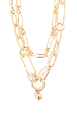 Chunky Double Strand Necklace