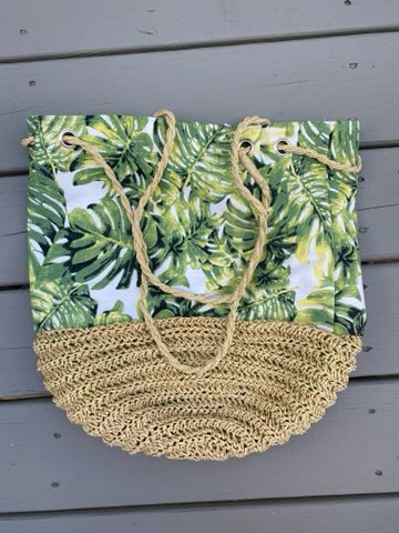 Palm Leaf Bag