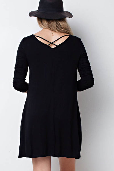 Dress with Back Detail