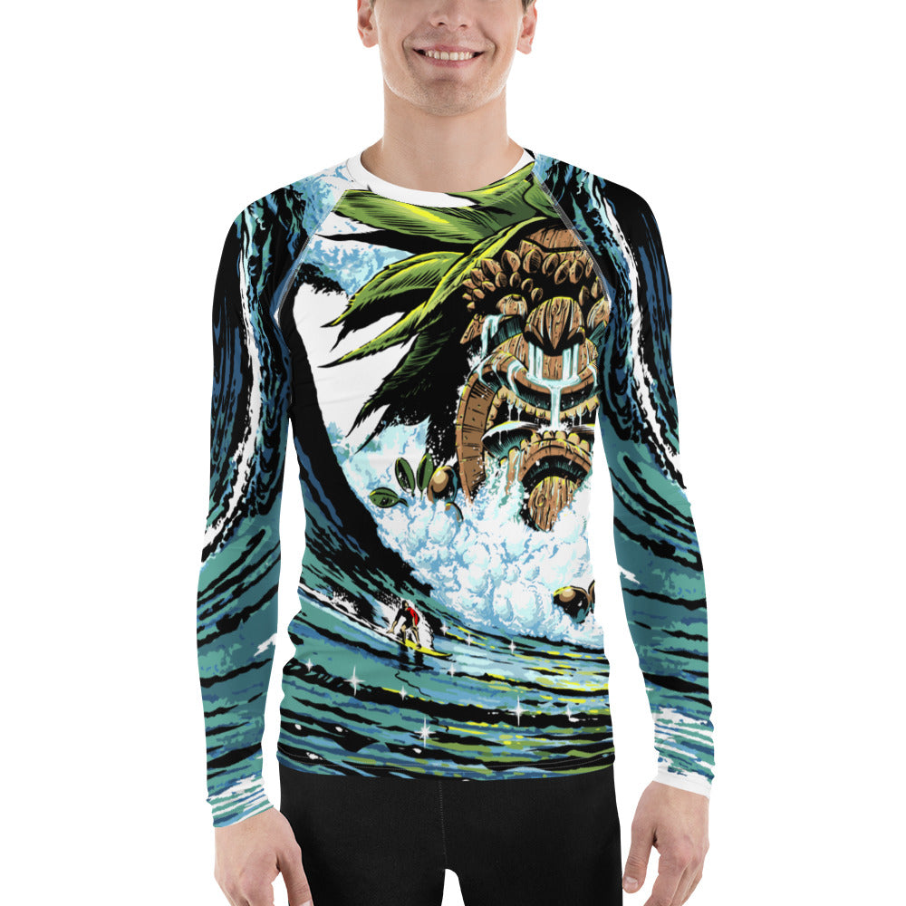 Men's Tiki Rash Guard