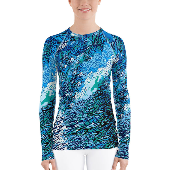 Women's Surf Rash Guard
