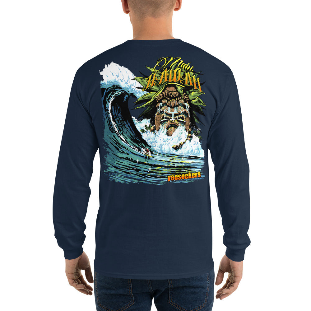 Men's Tiki Long Sleeve