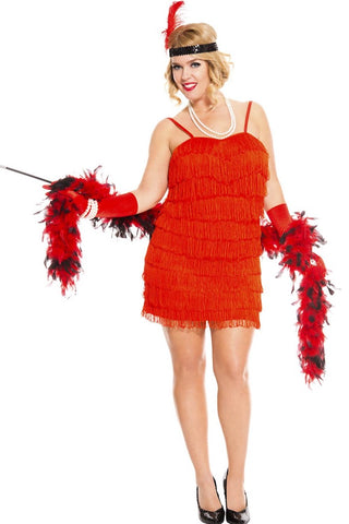 1920's Flaming Flapper