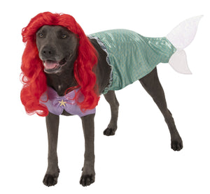 Pet Big Dogs The Little Mermaid Ariel Costume - worldclasscostumes