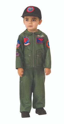 Sku 510590   Top Gun E-Z On Romper Costume