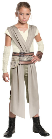 Star Wars: The Force Awakens - Classic Rey Costume For Girls - worldclasscostumes