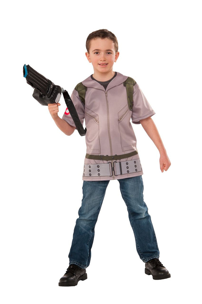 Sku 620831  Kids Ghostbusters Costume Top and Proton Wand