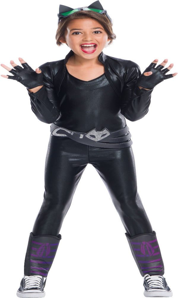 Sku 630722  Kid's Deluxe Catwoman Costume