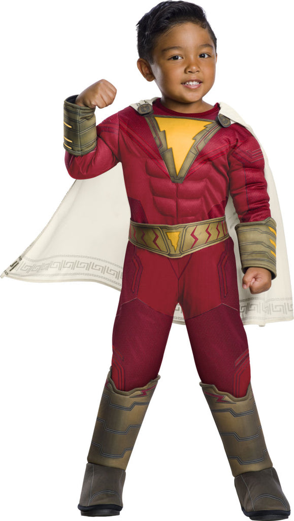 Sku 700699   Shazam Toddler Deluxe Costume