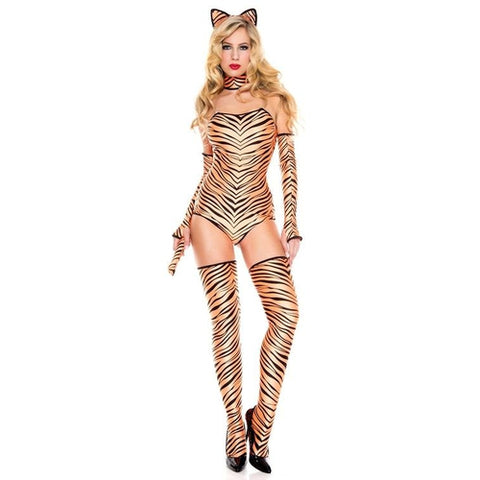 Pouncing Tiger Ladies Costume