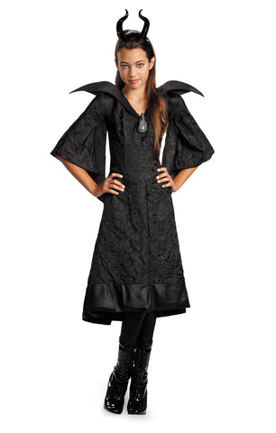 Maleficent Christening Black Gown Child Classic