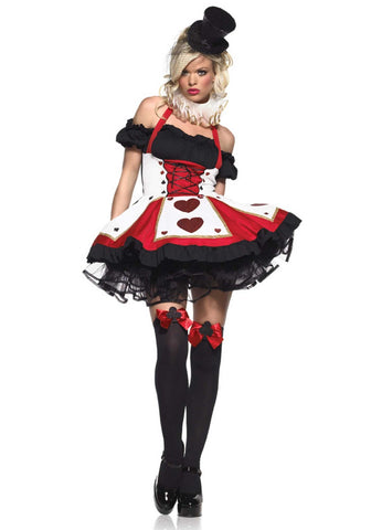 2-Piece Pretty Playing Card Costume