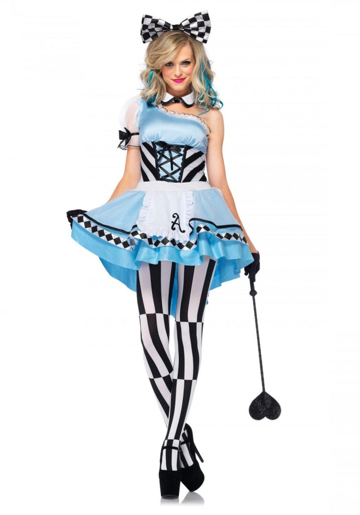 Sku 85225  3-Piece Psychedelic Alice Costume
