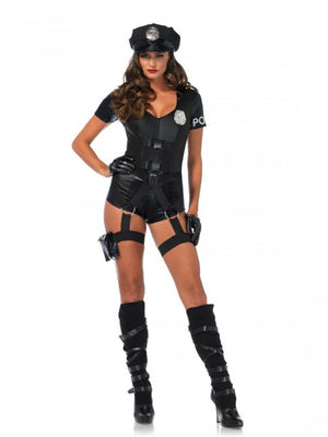 3 PC Flirty Five-O Costume - worldclasscostumes