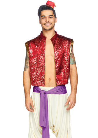 Sku 86844  3 PC Desert Prince Costume