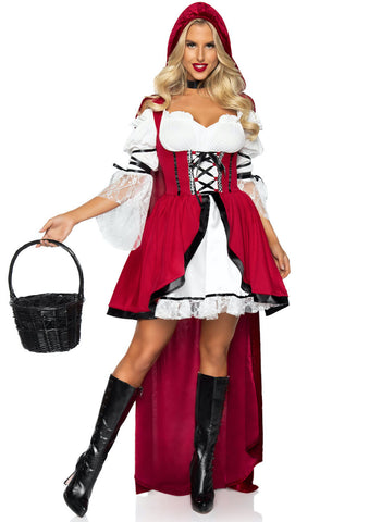 2 PC Storybook Red Riding Hood Costume