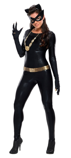 Sku 887212  Grand Heritage Adult Catwoman Costume - Classic Batman TV Show 1966 - worldclasscostumes
