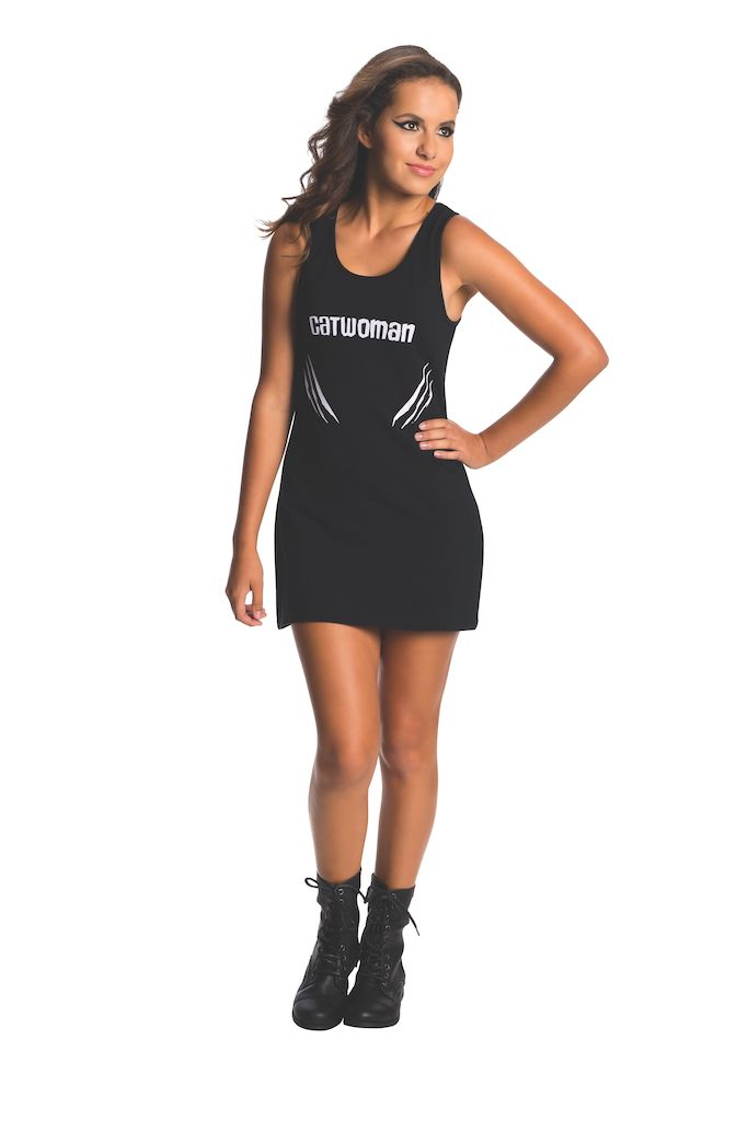 Sku 887904  Tank Dress Teen Catwoman Costume