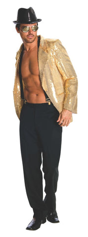 Mens Gold Sequin Jackets