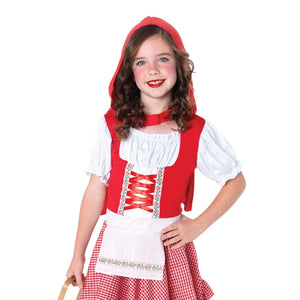 Lil Miss Red Girls Costume - worldclasscostumes