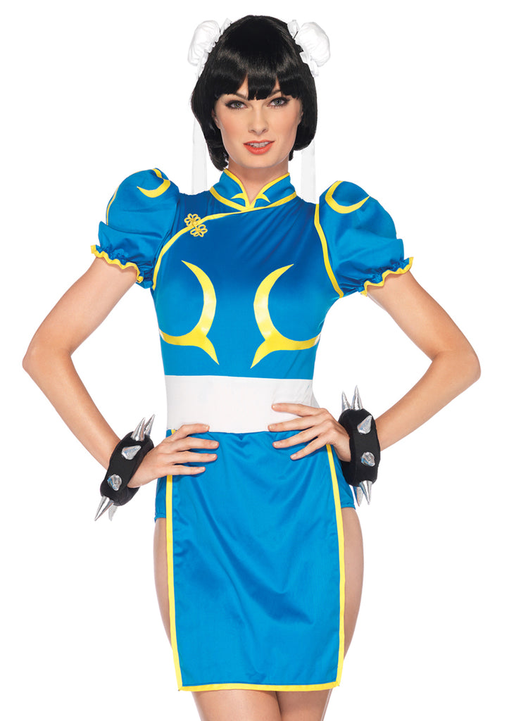 3 PC Street Fighter Chun-Li Costume