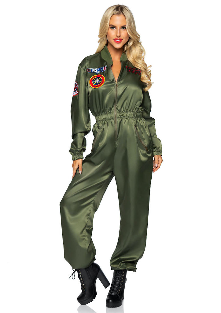 Top Gun Parachute Flight Suit Costume