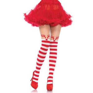 Rudolph Reindeer Thigh High - worldclasscostumes