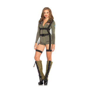 2 PC Top Gun Romper - worldclasscostumes