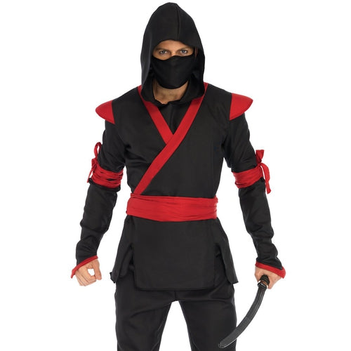 Mens  5 PC Ninja Costume - worldclasscostumes