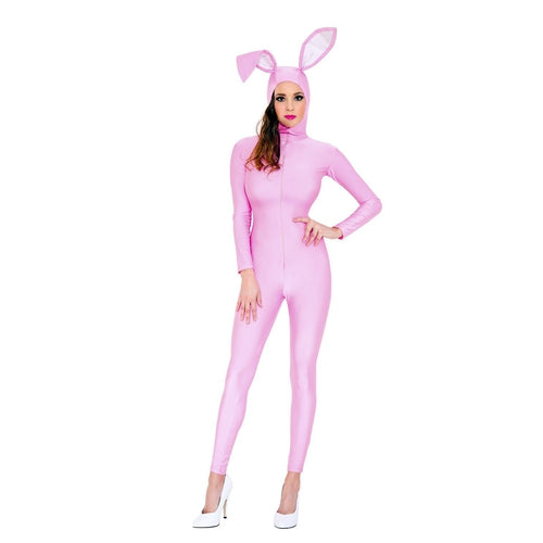 Playfully Pink Bunny Costume