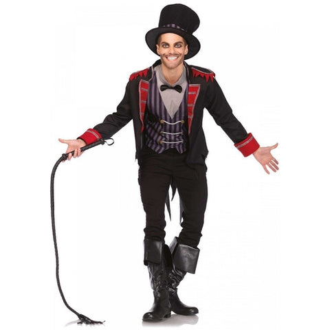 3 PC Sinister Ring Master Costume - worldclasscostumes