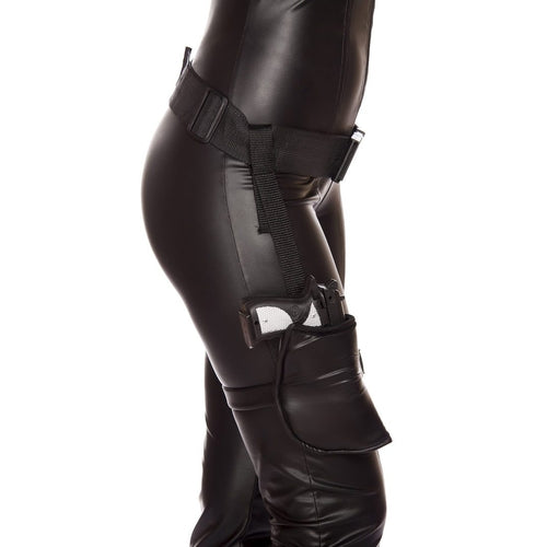 Leg holster With Connected Belt - worldclasscostumes