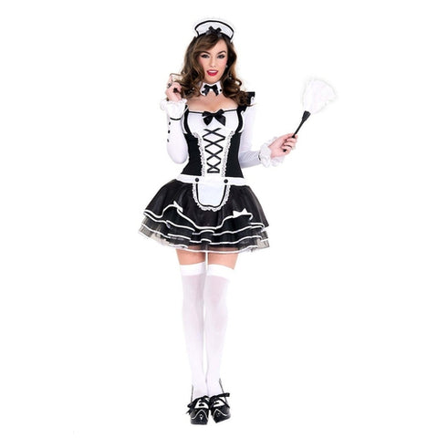 Pretty And Proper French Maid