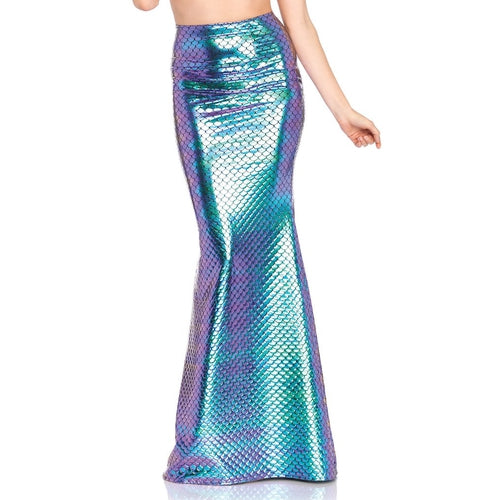 Iridescent Scale Mermaid Skirt