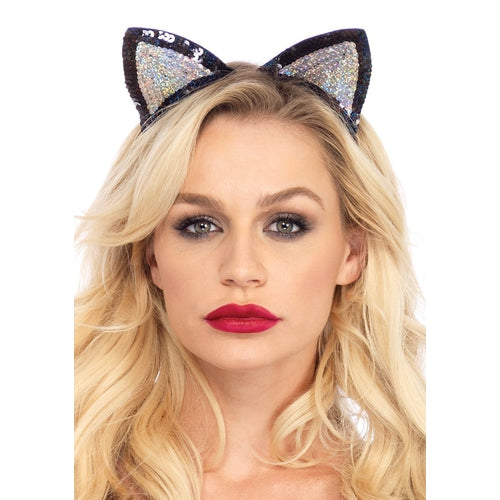 Sequin Cat Ears