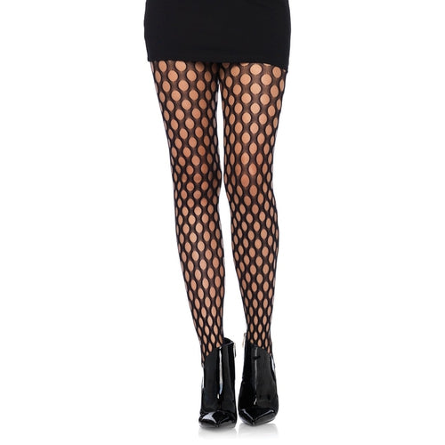 Oval Net Tights