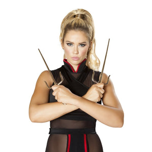 Sku 4643  Pair Of Ninja Trident - worldclasscostumes