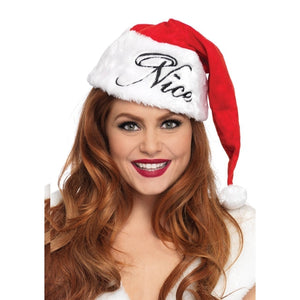 Reversible Plush Santa Hat - worldclasscostumes