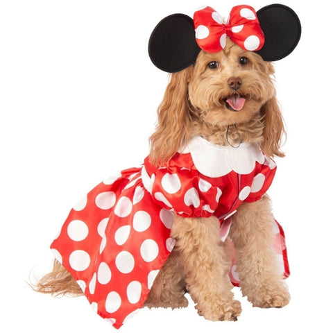 Minnie Mouse Dress Pet Costume
