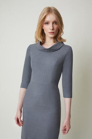Jackie Luxury Wool Grey