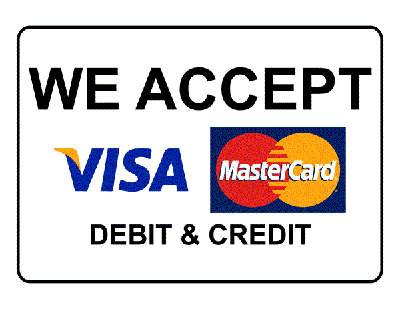 What payment methord we accept?