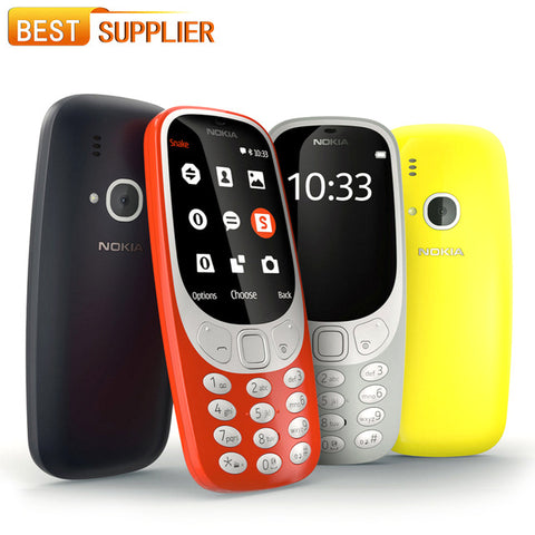 Nokia 3310 LED Flash 2MP microSD up to 32GB Long Standby Time 1200mAh 2.4 inches Dual SIM Smartphone - coolsir sunglasses