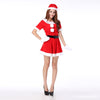 K05 New type Sling Christmas Costume short Santa Clothing with belt for Gift and Party - coolsir sunglasses
