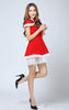 K11  Shawl Perform Costume night club uniform Sexy Alluring women Santa Costume Christmas Wearing - online shopping wih