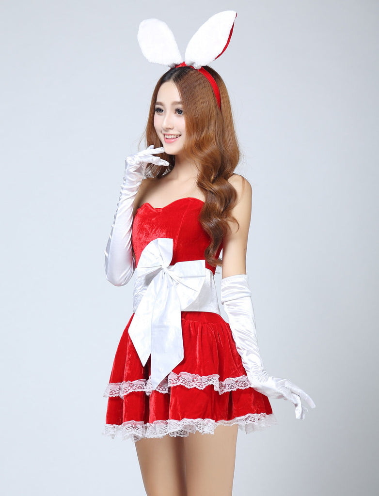 k30 fashionable lingerie women christmas perform costumes