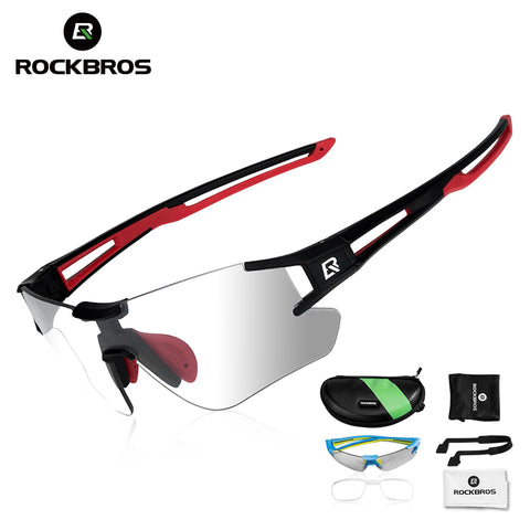 Photochromic Cycling Glasses MTB Road Cycling Eyewear Bicycle Glasses Sports