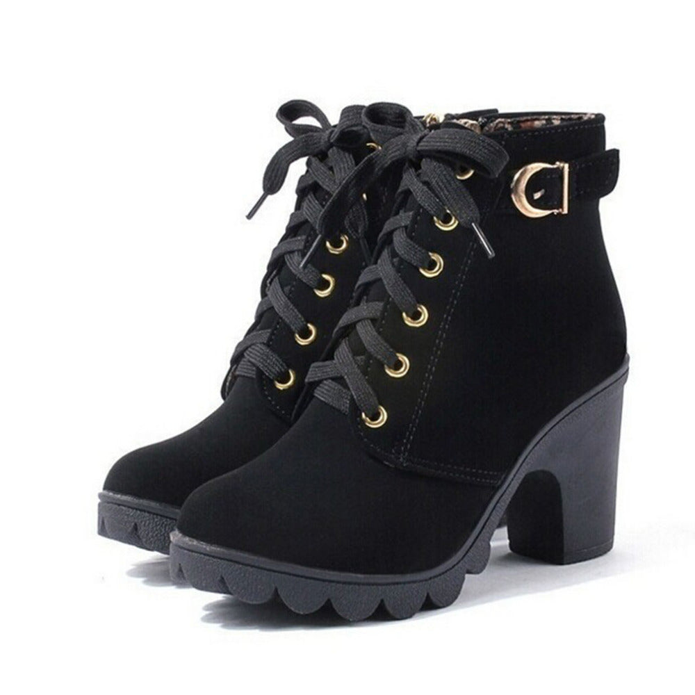 6210 Autumn Winter Women Boots High - online shopping wih
