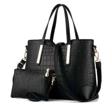 104 Crocodile Big Women Composite Bag - online shopping wih