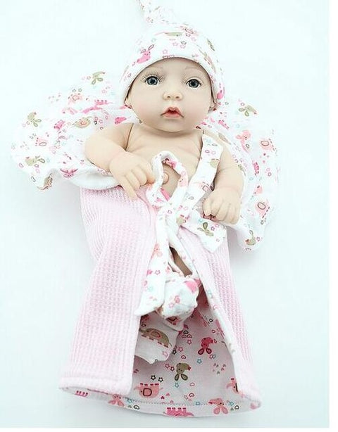 DO94 Classic Baby toy Soft Silicone Reborn Baby Dolls Clothes Toys - online shopping wih