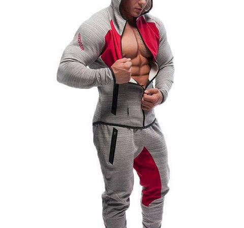 112E Men Casual Hoodies Fitness Brand Clothing Camisetas Tracksuits - online shopping wih
